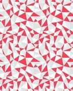 Seamless pattern of geometric Stock Illustration