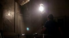 Professional Lighting Equipment Stock Footage