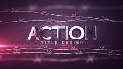 Action Title Design Stock After Effects