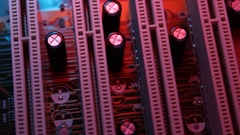 Sub system mounted vertically Stock Footage