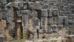 Myra Ancient city in Demre, Antalya - Turkey Stock Photos