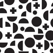 Fashion style seamless pattern Stock Illustration