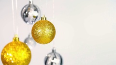 Christmas background with copy space Stock Footage