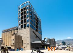 Construction site of the new Zeitz Museum of Contemporary Art of Africa in Cape Stock Photos