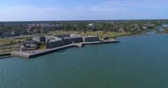 Castillo De San Marcos St Augustine FL Stock Footage