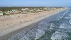 St augustine shores aerial video Stock Footage