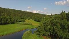 Beautiful Countryside Landscape Stock Footage