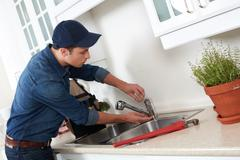 Plumber. Stock Photos