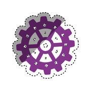 Gear cog wheel Piirros