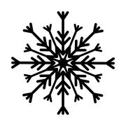 Snowflake winter snow Piirros