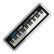 Piano music instrument Piirros
