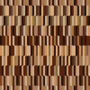 Vertical stripped seamless background in shades of brown Stock Illustration