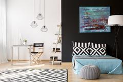Creative interior design Stock Photos