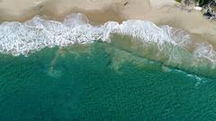 4K Laguna Beach - Crystal Clear Waves Stock Footage