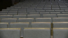 Empty Seats At Сoncert Hall Stock Footage