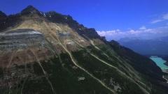 Aerial beautifil mountains Stock Footage