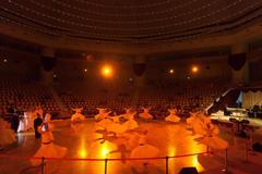 Dancing dervishes in Konya Stock Photos