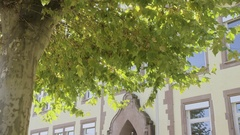 An old school building in germany 6K resolution Stock Footage