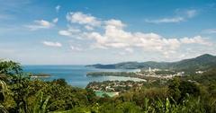 Phuket viewpoint timelapse Stock Footage