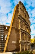 Colosseum or Flavian Amphitheatre in Rome, Italy Stock Photos