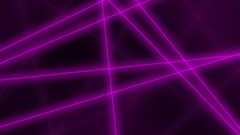 Hi-tech motion background. Abstract purple glowing lines crossings. 4K seamless Stock Footage
