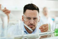 Chemical investigation Stock Photos