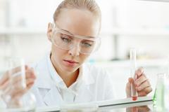 Scientific studies Stock Photos