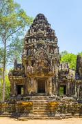 Thommanon temple ruins in Angkor Stock Photos