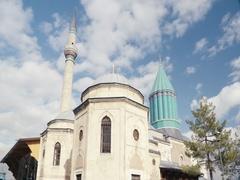 Time Lapse of Konya Mevlana Museum Stock Footage