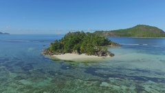 La Digue Island Lodge, L'Union Estate, Seychelles Stock Footage