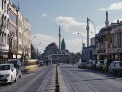 Konya Mevlana Museum Time Lapse Stock Footage