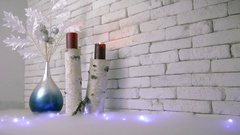 Santa is come Christmas and New Year Stock Footage