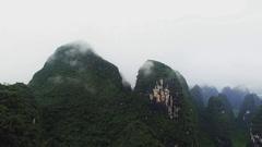 Yangshuo Mountain Retreat Stock Footage