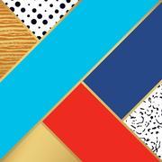Abstract art pattern. illustration for fashion design Stock Illustration