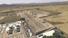 Eco friendly energy, power plant Stock Footage