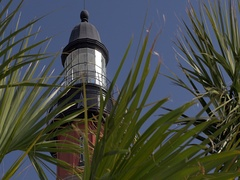 Ponce de Leon Inlet Lighthouse Stock Footage