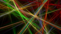 Colorful lines abstract loop motion background Stock Footage