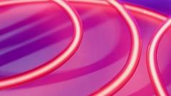 Nightclub neon lights. Futuristic creative energy concept Stock Footage