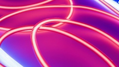 Lighting red neon light motion backgrounds Stock Footage