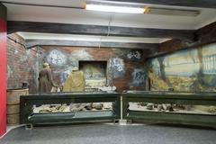 Volgograd, Russia  November 02, 2016. Museum of Memory -Place captivity fas.. Stock Photos