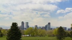 Denver Golf Course Time-lapse Stock Footage