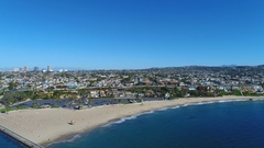 4K Orange County Coastline, Southern California Stock Footage