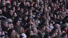 Audience in Stadium Stock Footage