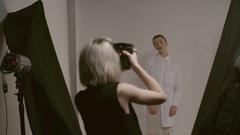 Fashion Photo Shooting Stock Footage