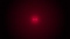 Futuristic Techno Ripple Red Shine Circuit Board. Stock Footage