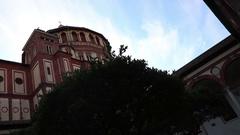 Santa Maria delle Grazie basilica, Milan Stock Footage