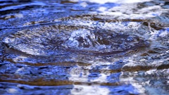 Curative water sparkling Stock Footage
