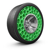High tech airless wheel Stock Illustration