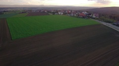Village in south germany Stock Footage