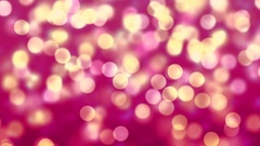 Purple Abstract Lights bokeh background loop Stock Footage